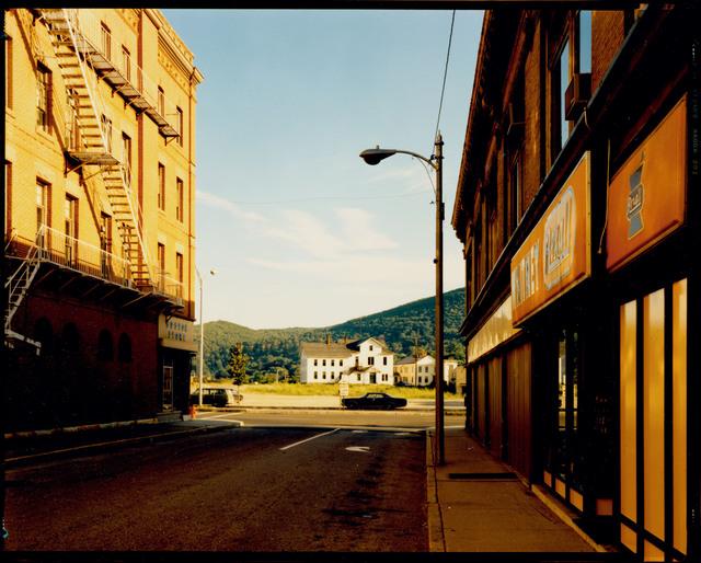 , 'Holden Street, North Adams, Massachusetts, July 13, 1974,' 1974, Edwynn Houk Gallery