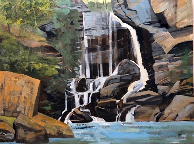 , 'Big Bradley Falls,' , Momentum Gallery