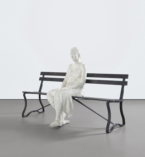 George Segal, 'Woman with Sunglasses on Bench', 1983, Phillips