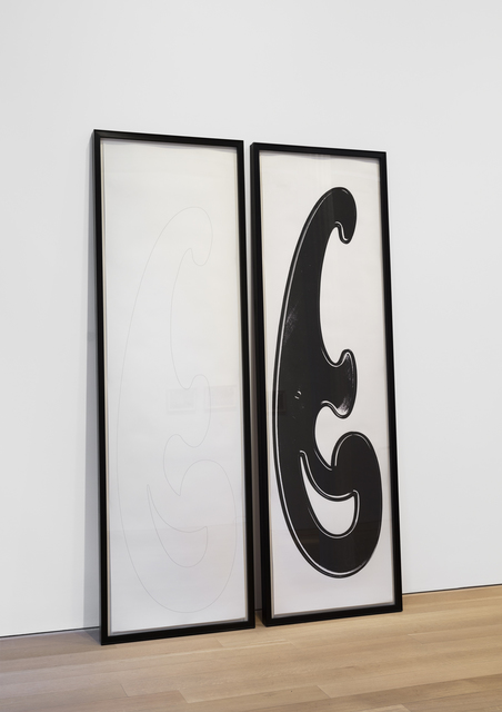 Rita McBride, 'French Curve Diptych', 2006, Alexander and Bonin