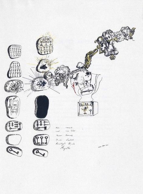 Salvador Dalí, 'André Breton, Second manifeste du surréalisme, Kra, Paris, 1930', Print, The complete book with one pochoir in colors by the artist on the frontispiece, on wove paper, Christie's
