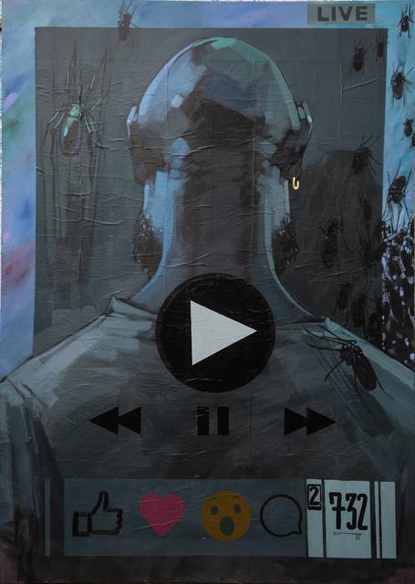 Dawit Abebe, 'Gap 8 - Liminal in the Age of Mobility', 2018, Kristin Hjellegjerde Gallery