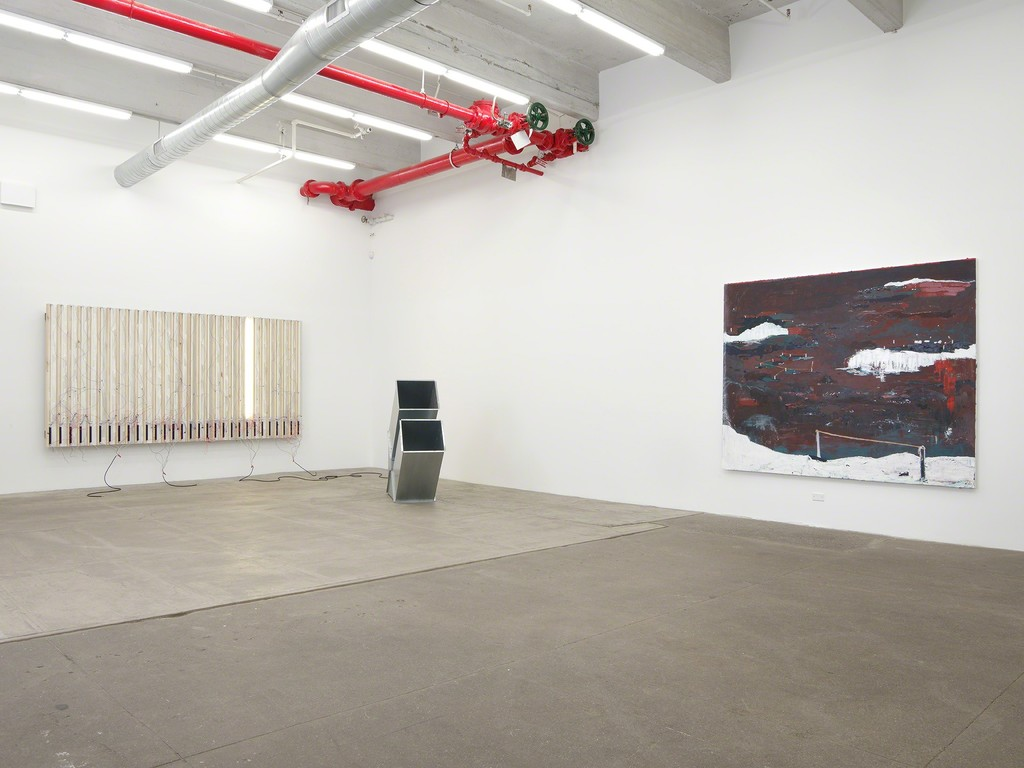 I Beam U Channel, 2016, installation view, Bortolami, New York