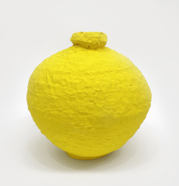 Trevor King, 'Yellow Water Jar #2', 2019, David Klein Gallery