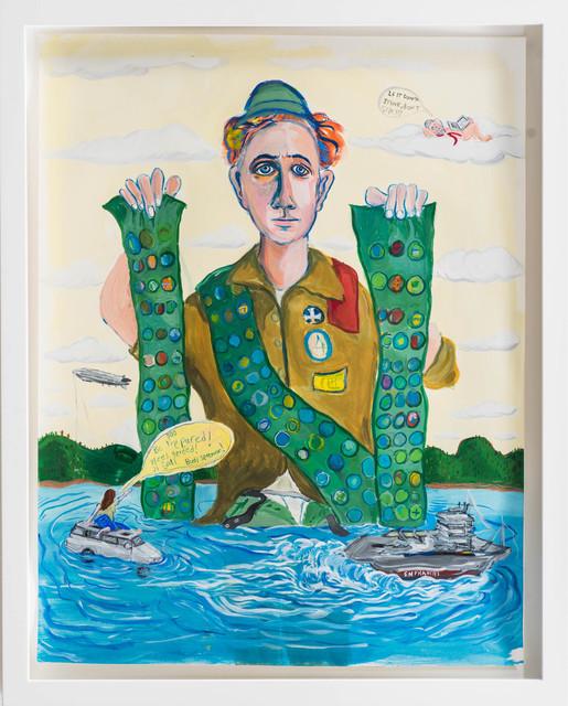 , 'Be Prepared,' 2015, Rosamund Felsen Gallery