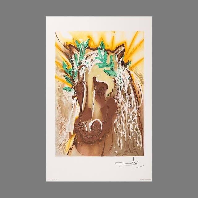 Salvador Dalí, 'Le Cheval du Printemps (Horse of Spring)', 1983, Print, Lithograph on Vélin d'Arches Paper, Art Lithographies