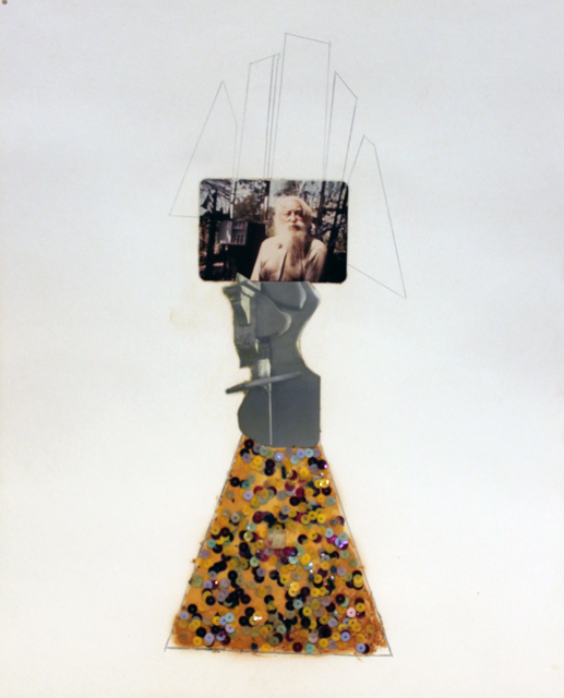 , 'Clarence Schmidt by his Mirrors ,' 1976, Philadelphia's Magic Gardens