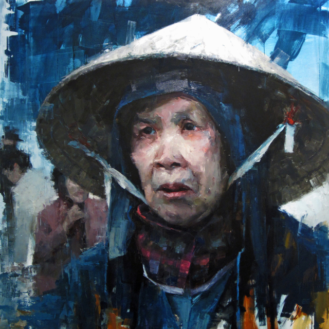 Aron Belka, 'Market Woman', 2015, LeMieux Galleries