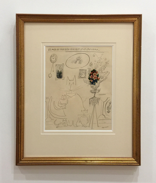 , 'Untitled (Cat Family),' 1954, Jonathan Novak Contemporary Art