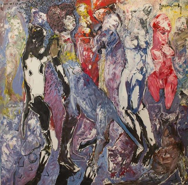 , 'Des Hommes et Des Vies IV,' 2017, Sulger-Buel Lovell