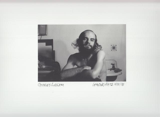 , 'Charles Ludlam,' 1970-1995, Herlitzka + Faria
