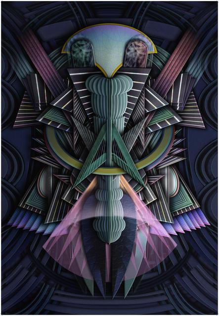 , 'Angel 4 (Night),' 2015, Galerie Kleindienst