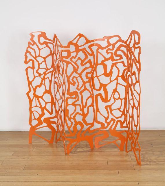 , '#tangerineharlequin,' 2018, Nancy Hoffman Gallery