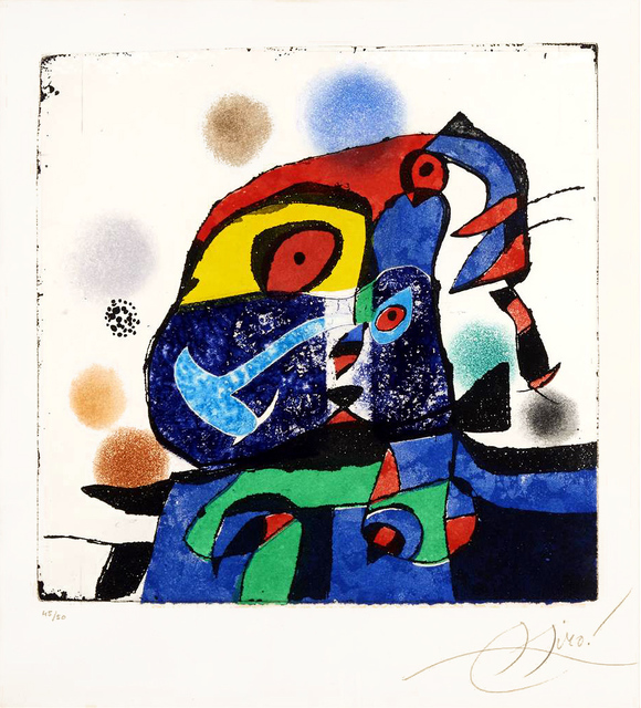 Joan Miró, 'Gaudí V', 1979, Masterworks Fine Art