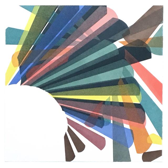 Laura Berman, 'Umbra FS22', 2018, Print, Ink on paper, Long View Gallery