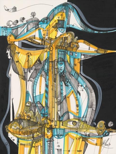 Luka Brase, 'Kazakhstan', ca. 2017, E-Moderne Gallerie
