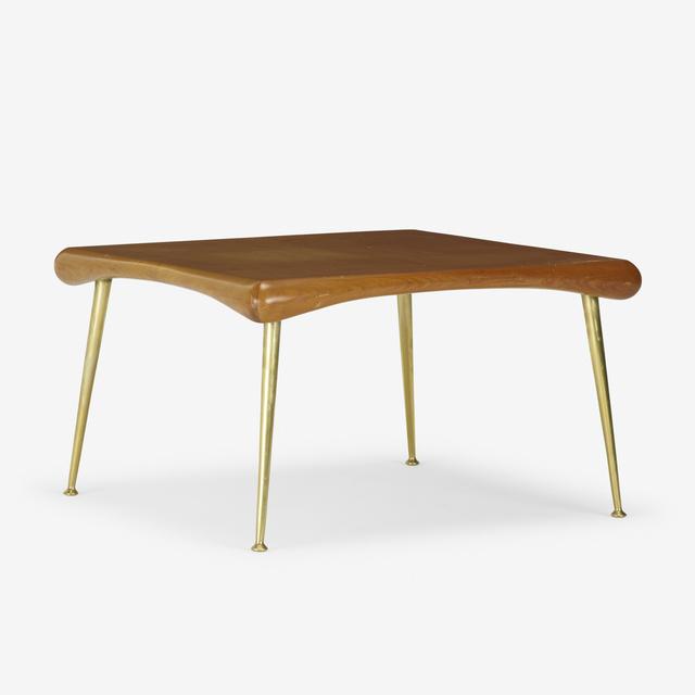 T.H. Robsjohn-Gibbings, 'occasional table, model 1750', 1954, Rago