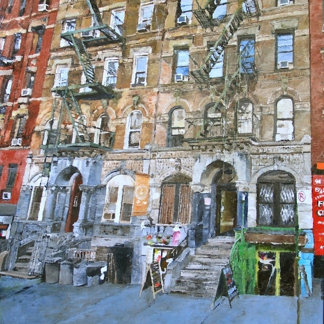 , '96-98 St Mark's Place,' 2015, Artima