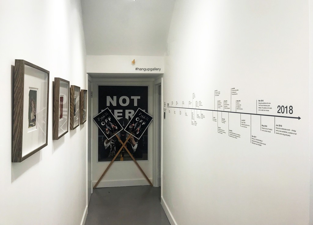 The Connor Brothers sold out collection, Kennardphillips protest posters and Hang-Ten timeline #hangupgallery