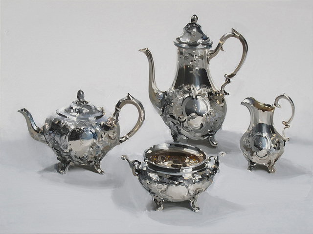 , 'Silver Baroque Four,' 2018, Absolute Art Gallery