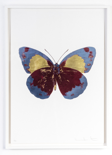 Damien Hirst, 'The Souls II - Chilli Red/Frost Blue/ Oriental Gold', 2010, Gow Langsford Gallery
