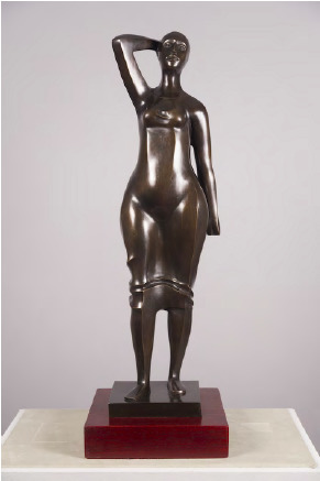 , 'Woman Walking (Standing Woman),' 1987, Burning in Water