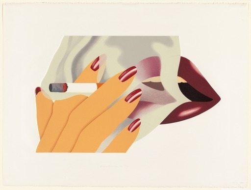 , 'The Smoker,' 1976, Vertu Fine Art