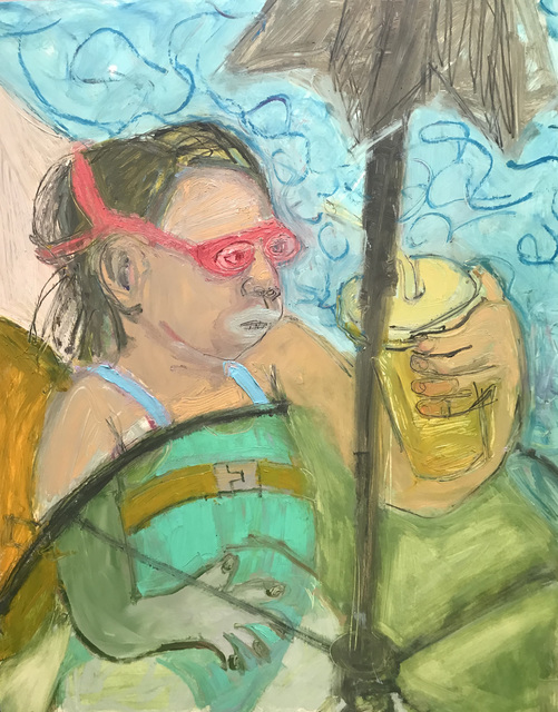 , 'Pink Goggles,' 2018, ZINC contemporary