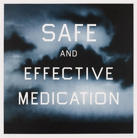 , 'Safe and Effective Medication,' 2001, Galerie Maximillian