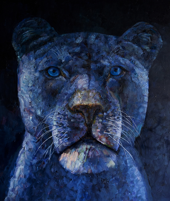 , 'One Lion,' 2016, Lorenzelli arte