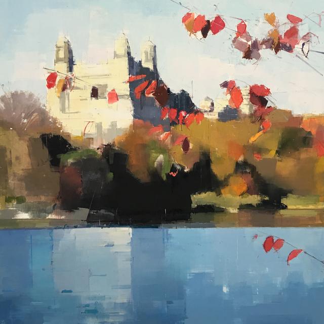 , 'Red Leaves II,' 2016, Kathryn Markel Fine Arts