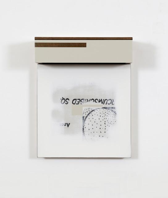 , 'Circumtainer,' 2016, Bartha Contemporary