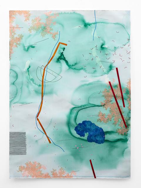, 'Blue in Green,' 2018, SMAC