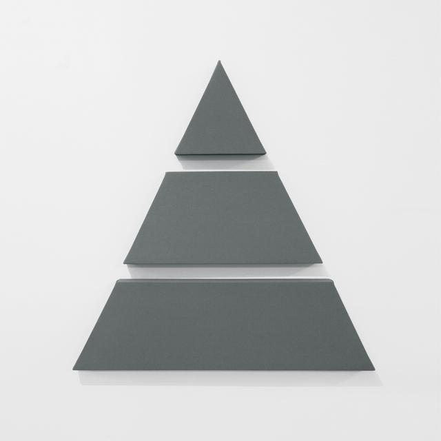 , 'Triangle in 3 Parts,' 2016, A arte Invernizzi