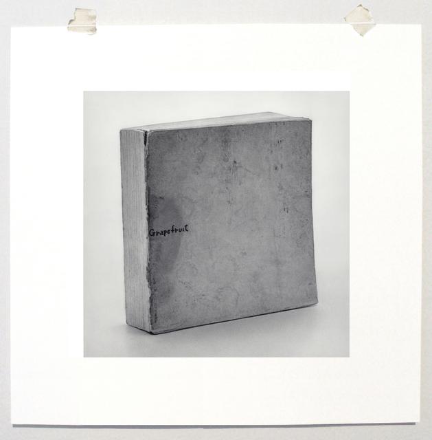 ", 'Formalizing their concept: Yoko Ono's "" Grapefruit, First Edition"" 1964,' 2013, Josée Bienvenu"