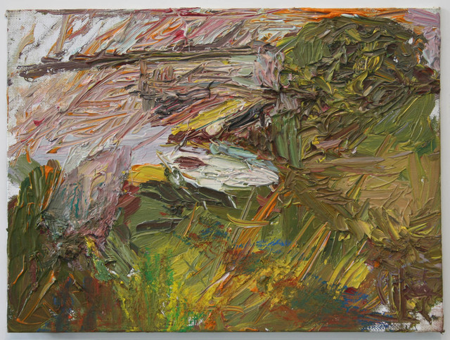 , 'Late Eve Study of Boats,' 2013, Betty Cuningham