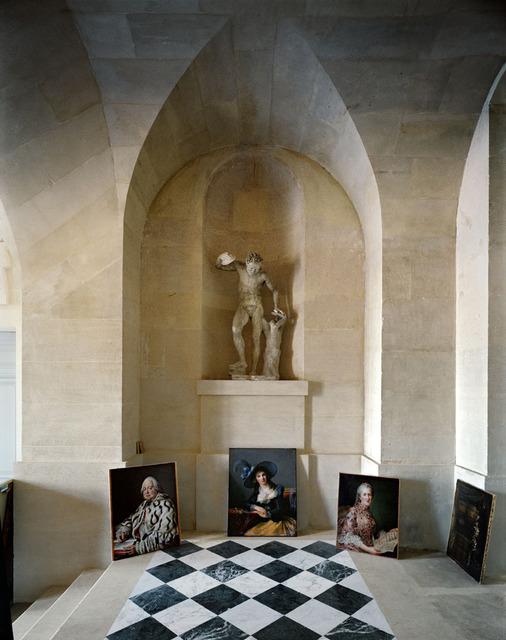 , 'Galerie Basse, (51) CCE.01.041, Corps Central - R.d.C., Château de Versailles, France,' 1986, Sundaram Tagore Gallery