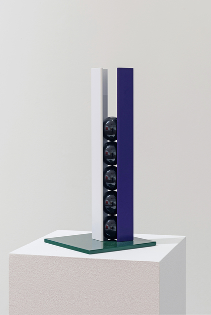 , 'Purple, White, Black and Green,' 2015, Flowers