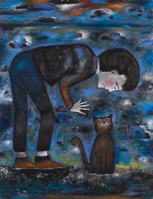 , 'high five,' 2017, Anton Kern Gallery