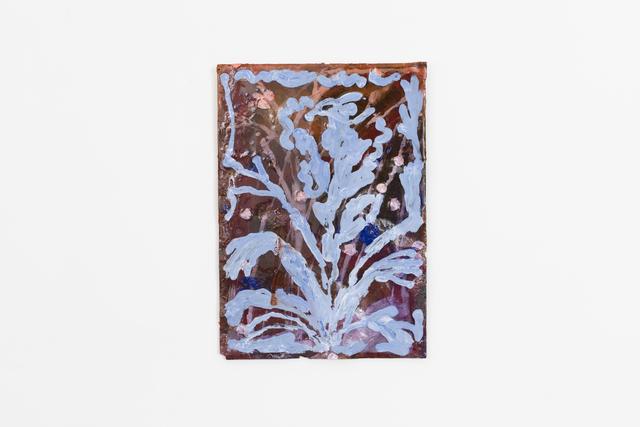 , 'Blue Head Flower,' 2018, Patrick Parrish Gallery
