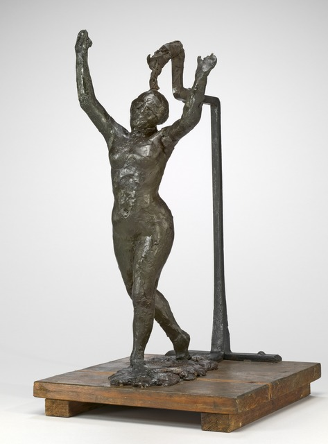 Edgar Degas, 'Dancer Moving Forward, Arms Raised', ca. 1885/1890, National Gallery of Art, Washington, D.C.