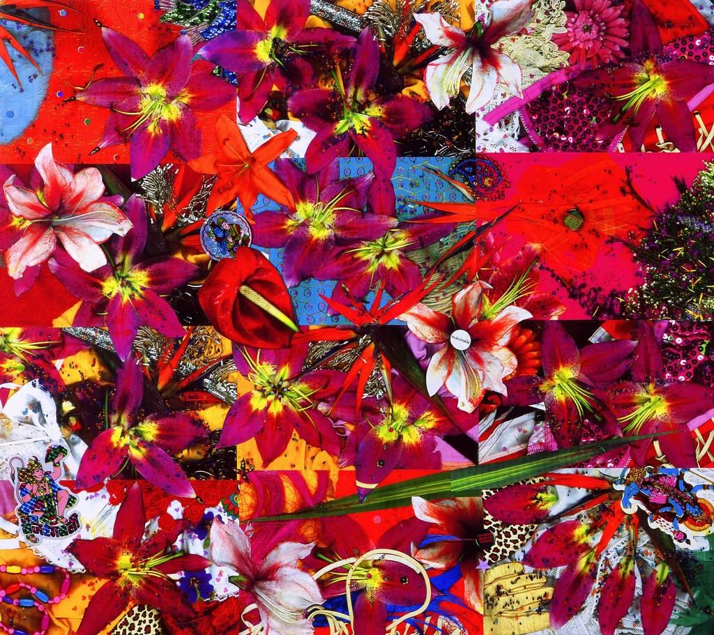 Chila Kumari Burman, Undesirable, 2012. Mixed Media,  84.1cm x 118.9cm. Courtesy October Gallery London