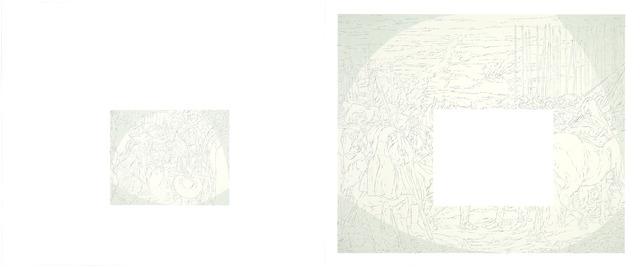 Samuel Stabler, 'Untitled (Old Master Diptych)', 2014, Garis & Hahn