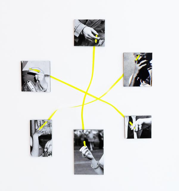 , 'Silent Conversation Nr. 1,' 2016, Raum mit Licht
