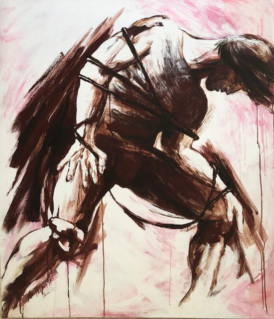 , 'The Awakening Slave,' 1986, Machamux