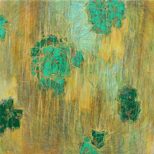 Shin Kyoung Ro, 'Inbetween 0508', 2018, Painting, Sewing on Korean paper, Artflow