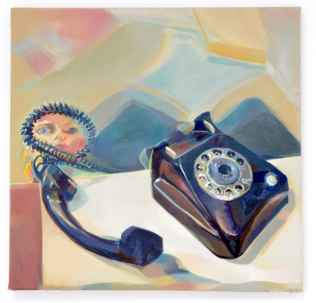 , 'Altes Telefon 1,' 2015, Galerie Elisabeth & Klaus Thoman