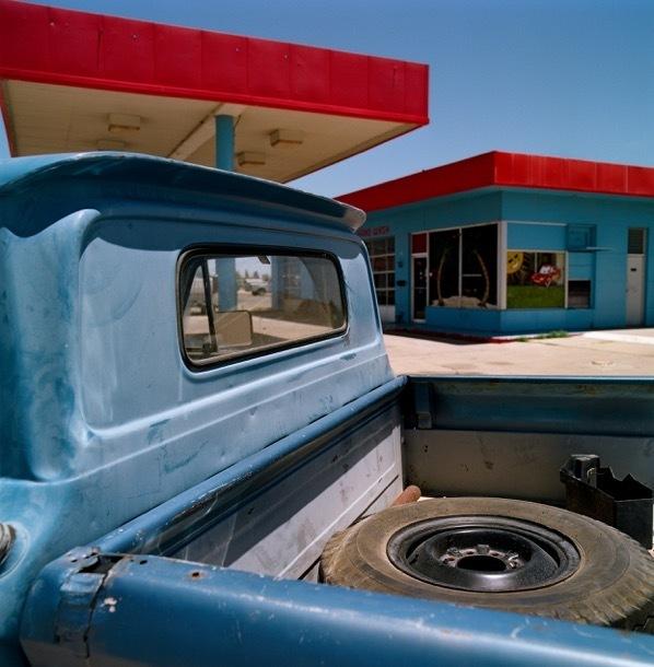 Allison V. Smith, 'Truck. Fort Stockton, Texas', 2014, Barry Whistler Gallery