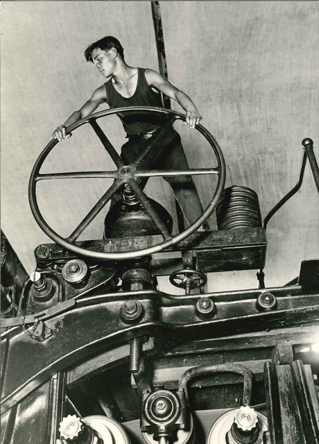 , 'Komsomolets at the Wheel, Balakhna, 1929,' On verso 1931, Atlas Gallery
