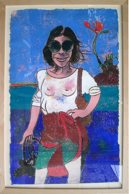 , 'A Portrait of Joan Didion,' 2002, Carrie Haddad Gallery